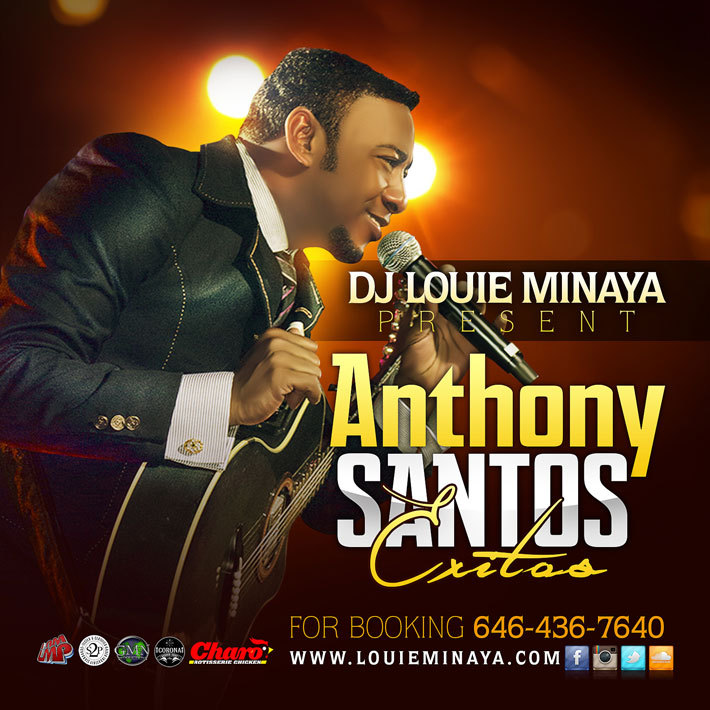 DJ Louie Minaya – Anthony Santos Exitos Mixtape