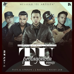 Tu Protagonista Remix's cover art