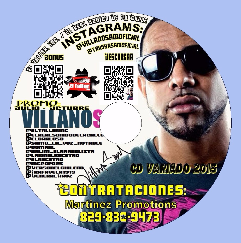 EXCLUSIVO: Villanosam Presenta CD Variado Pica Pollo 2015