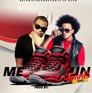 Belen El Deconetao ft El Alfa - Me Quite Un Tenis (Official Remix)