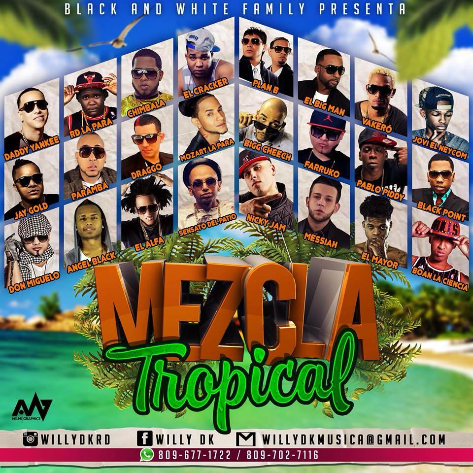 BWF Presenta – Mezcla Tropical (CD MIxtape Completo)