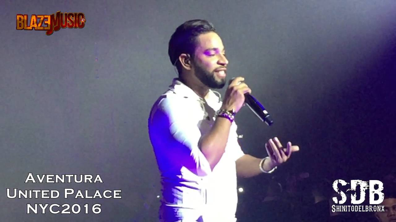 Aventura ReUnion Concert @ United Palace NYC 2016