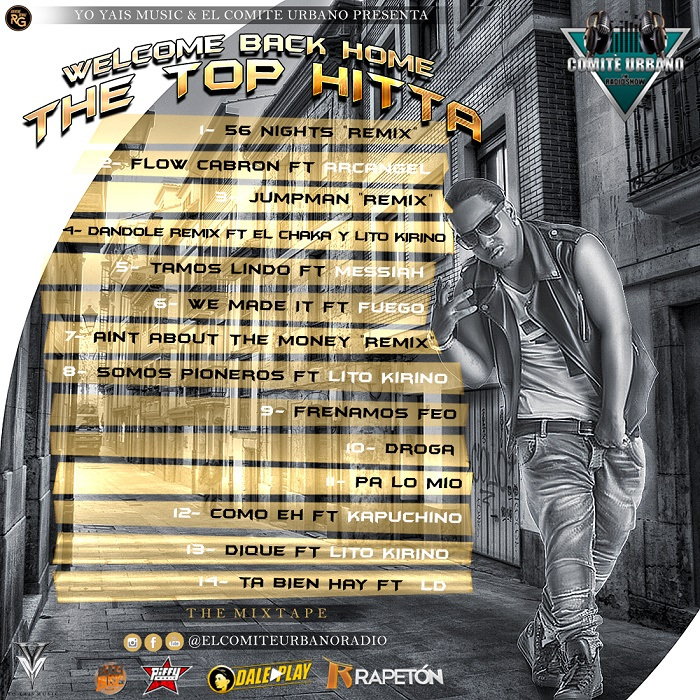 Tali – Welcome Back Home The Top Hitta (Mixtape)