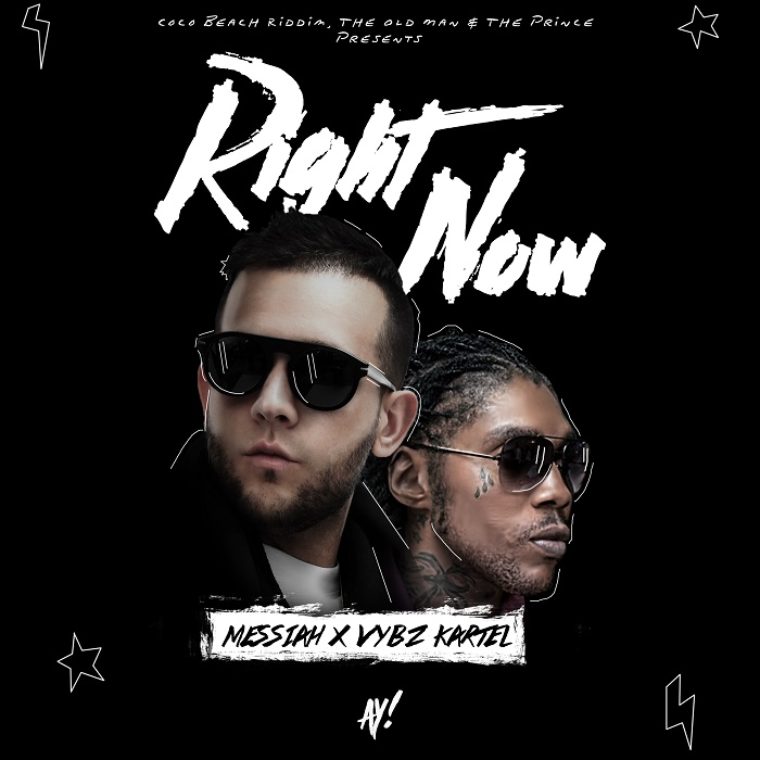 COVER OFICIAL: Messiah, Vybz Kartel – Right Now (Sabado 17 de Septiembre)