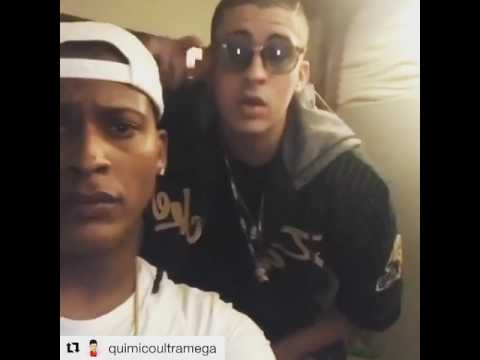 Preview de Bad Bunny para el Remix de Panamera de Quimico & Black Point ft Arcangel & Almighty