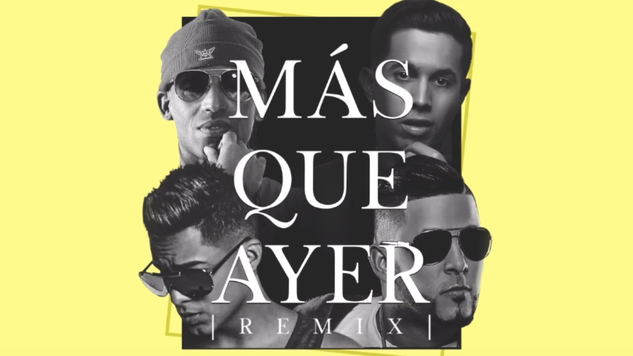 Arcangel ft De La Ghetto, RKM y Ken-Y – Más Que Ayer (Remix) (Lyric Video)
