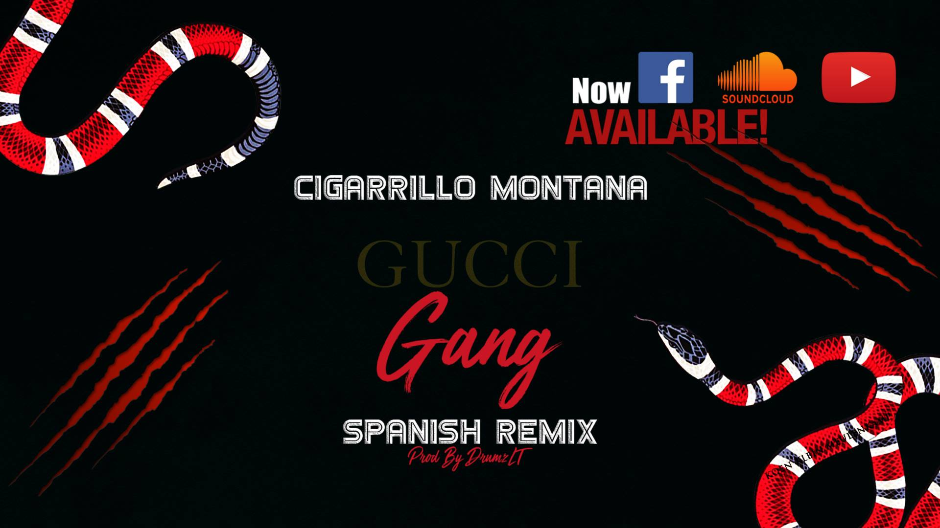 Cigarrillo Montana - Gucci Gang (Spanish Remix) (Prod By DrumzLT)