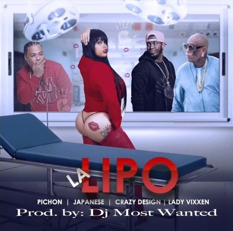 El Pichon ft Japanese, Crazy Design & Lady Vixxen - La Lipo (Remix)