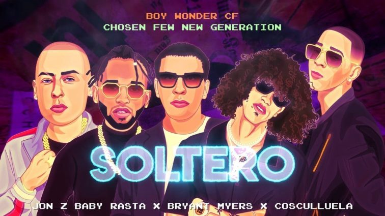 Jon Z ft Baby Rasta, Bryant Myers & Cosculluela - Soltero (Lyric Video)