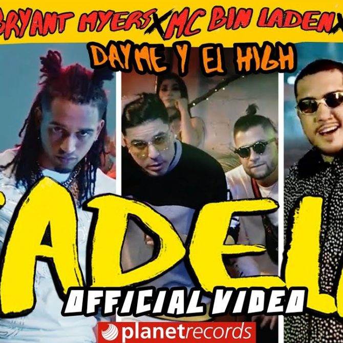 Nacho ft Bryant Myers, Almighty & MC Bin Laden – Cadela (Official Video)