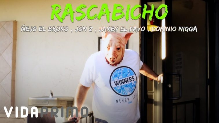 Ñejo ft Jamby, Jon Z y El Dominio - Rascabicho (Official Video)
