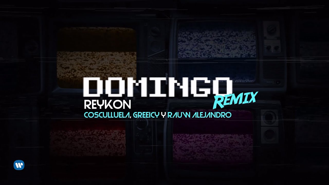 Reykon ft Cosculluela, Greeicy & Rauw Alejandro - Domingo Remix (Official Video)