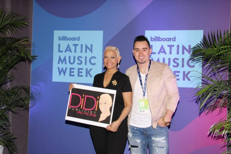 Diaz Publicist se destaca en Los Billboard 2019