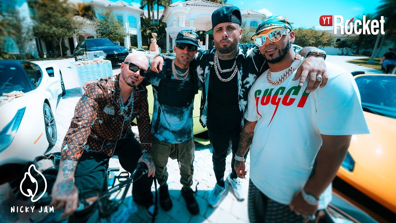 Nicky Jam ft J Balvin, Anuel AA & Arcangel - Ven Y Hazlo Tu (Official Video)