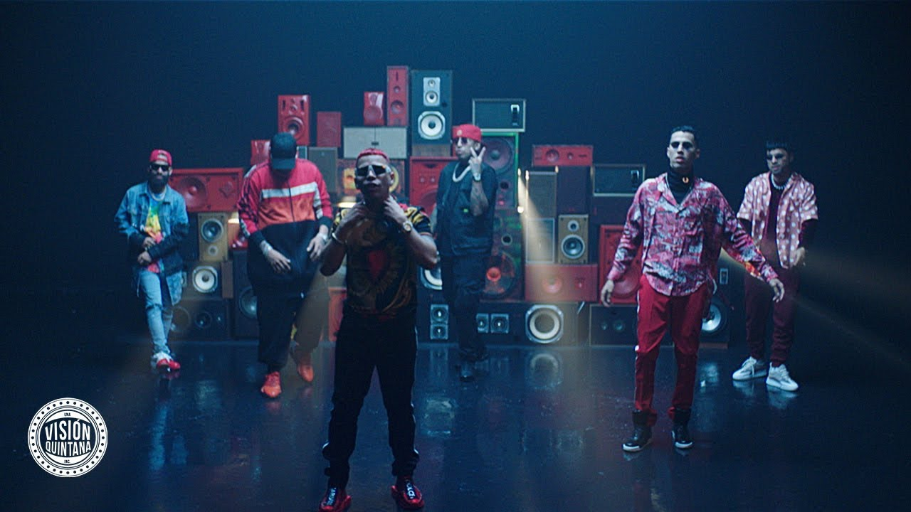 Kevvo ft Farruko, Arcangel, Myke Towers, Darell, Ñengo Flow, Brytiago, Chencho - 105F Remix (Official Video)