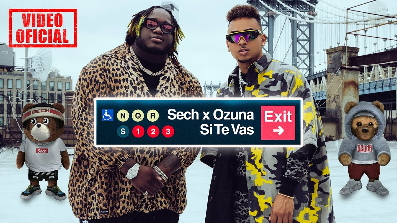 Sech ft Ozuna - Si Te Vas (Official Video)
