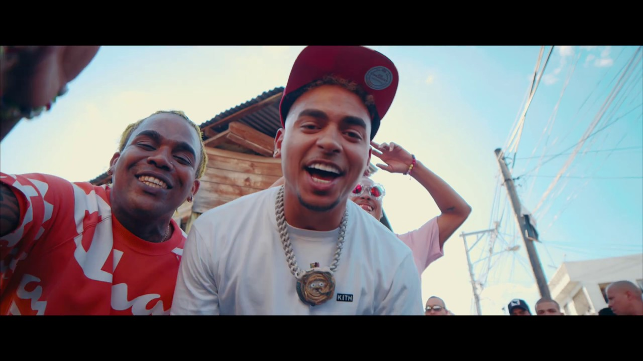 El Cherry Scom ft Ozuna & Kiko El Crazy - Baje Con Trenza (Remix) (Video Oficial)