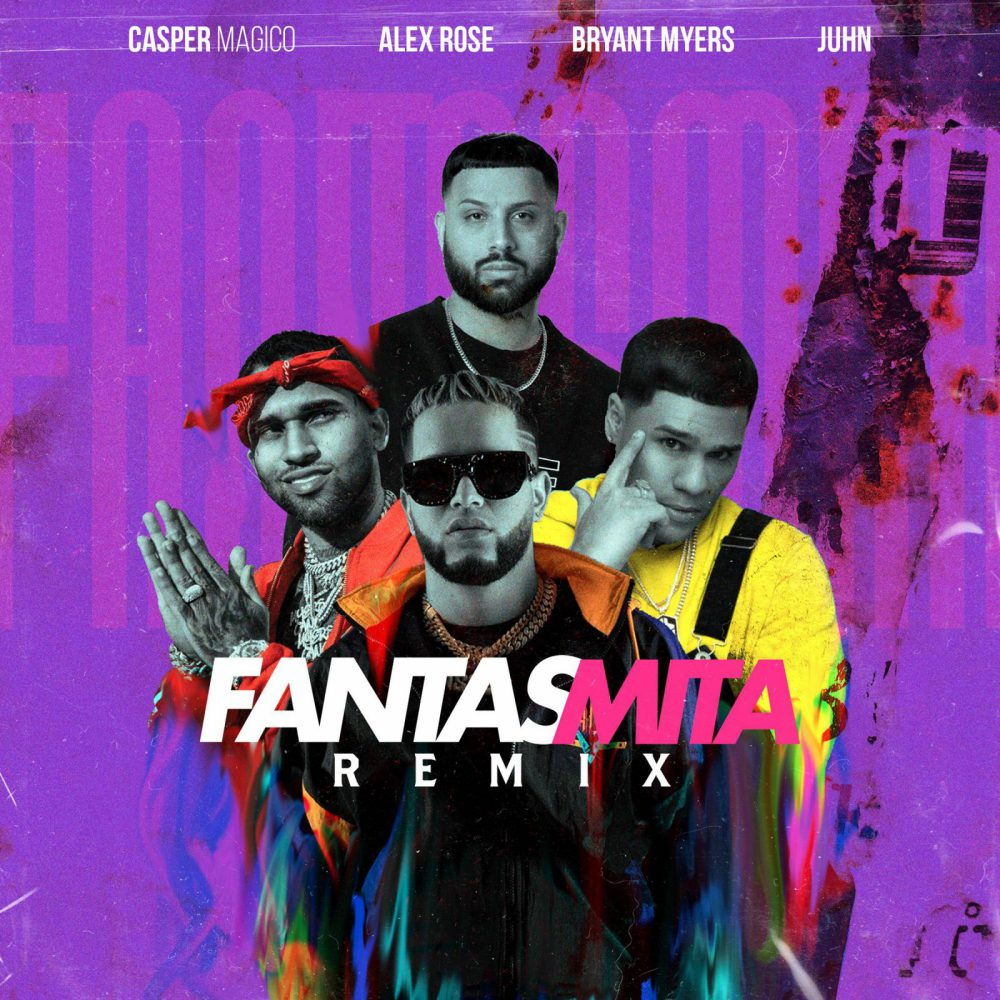 Casper Magico ft Alex Rose, Bryant Myers y Juhn - Fantasmita (Remix)