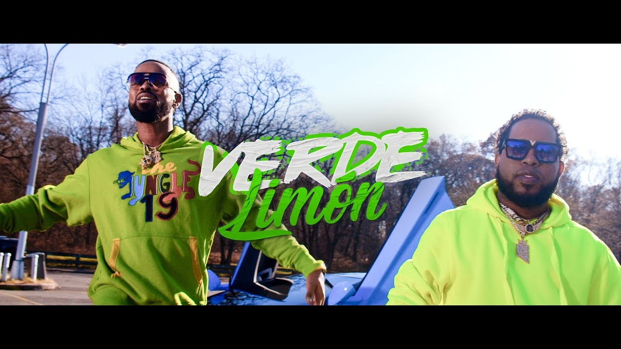 Jose Reyes ft Chimbala - Verde Limon (Video Oficial)