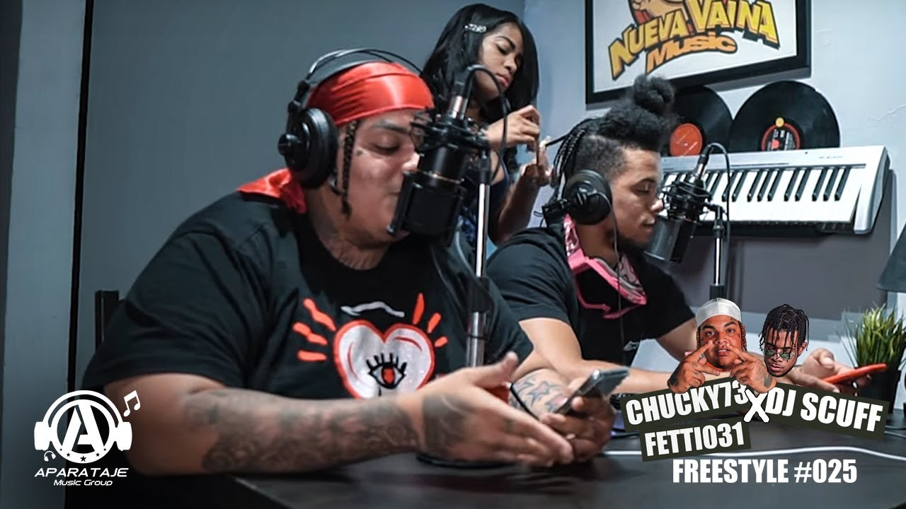 Chucky73, Fetti031 & DJ Scuff - Freestyle #025 (Video)