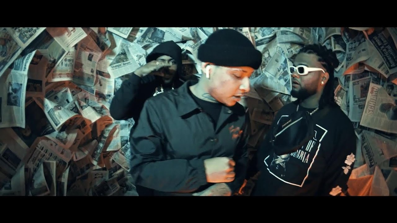 Moreno ft Dowba Montana & Nelly Nelz - Negro (Video Oficial)