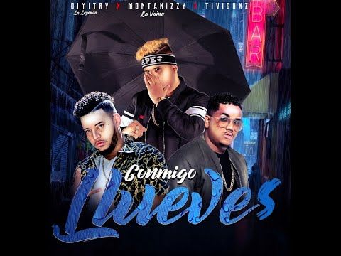 Montanizzy La Vaina ft Tivi Gunz & Dimitry - Conmigo Llueves (Video Lyrics)