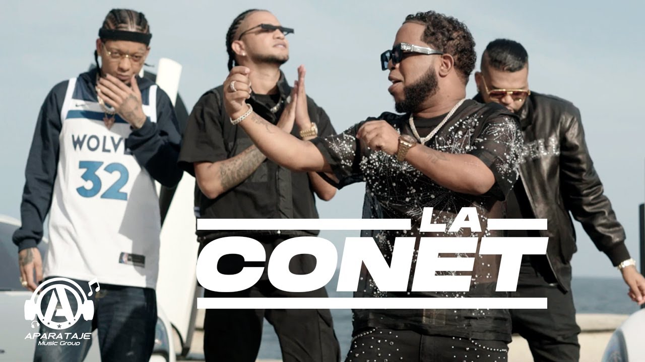 Chimbala ft Rochy RD, Mozart La Para & El Mayor Clasico - La Conet (Video Oficial)