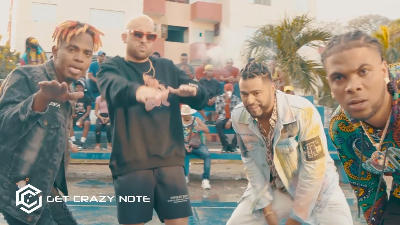 Jaudy ft Musicologo The Libro, Mark B, Liro Shaq, El Blonky - Ponmelo Ahi (Video Oficial)