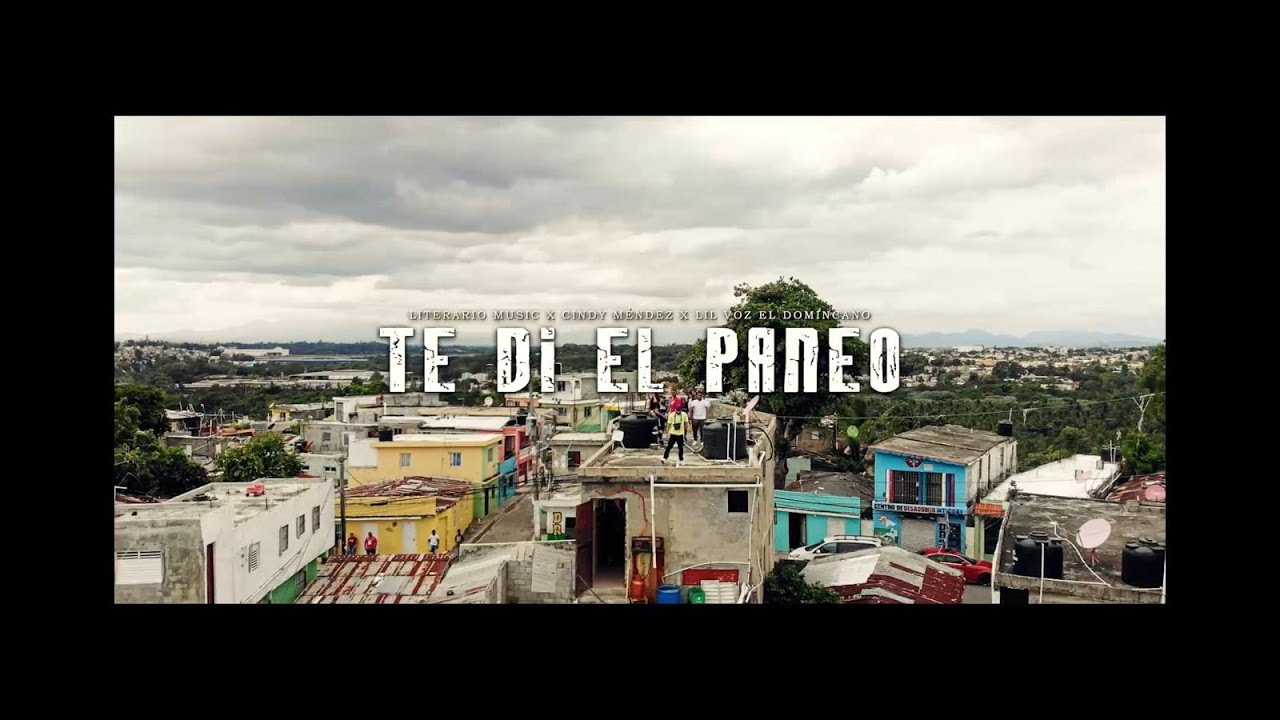 Literario Music ft Cindy La Parita & Lil Voz El Dominicano - Te Di El Paneo (Video Oficial)