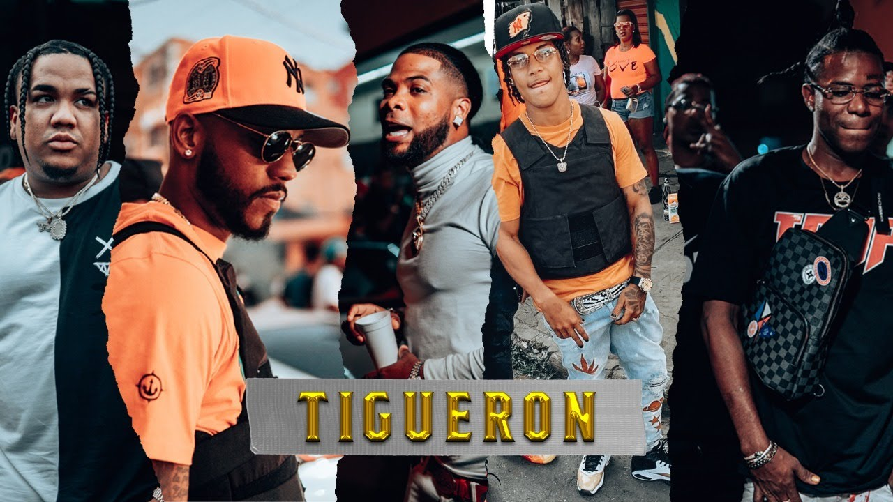Verbo Flow ft Haraca Kiko, Liro Shaq, Tivi Gunz, La Chipa & DJ Patio - Tigueron (Video Oficial)